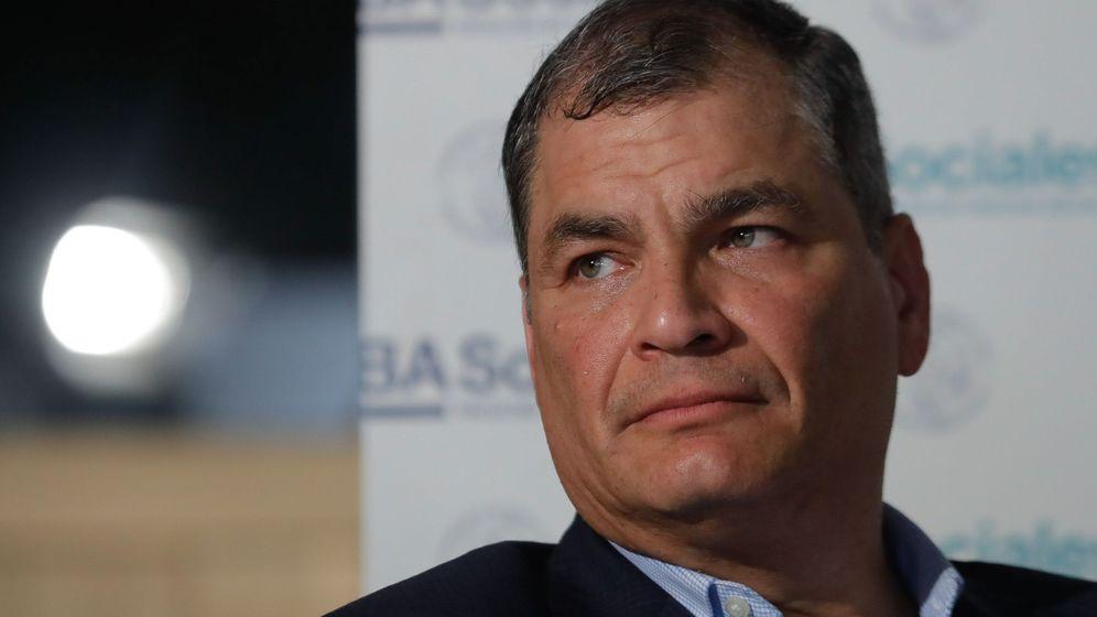 Foto: El expresidente ecuatoriano Rafael Correa. (EFE)