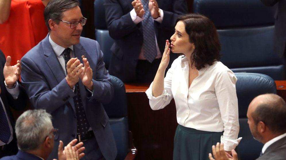 Foto: La nueva presidenta de la Comunidad de Madrid, Isabel Díaz Ayuso. (EFE)