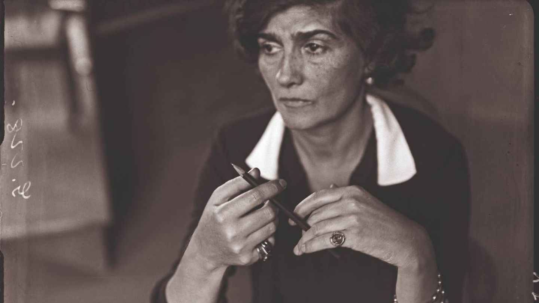 'Coco Chanel'. André Kertész. Años 30. (Ministère de la Culture de France)