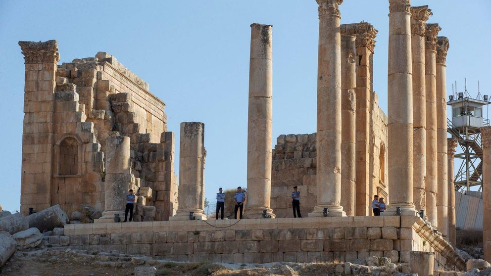 Cuatro turistas heridos en un apuñalamiento en unas ruinas de Jordania