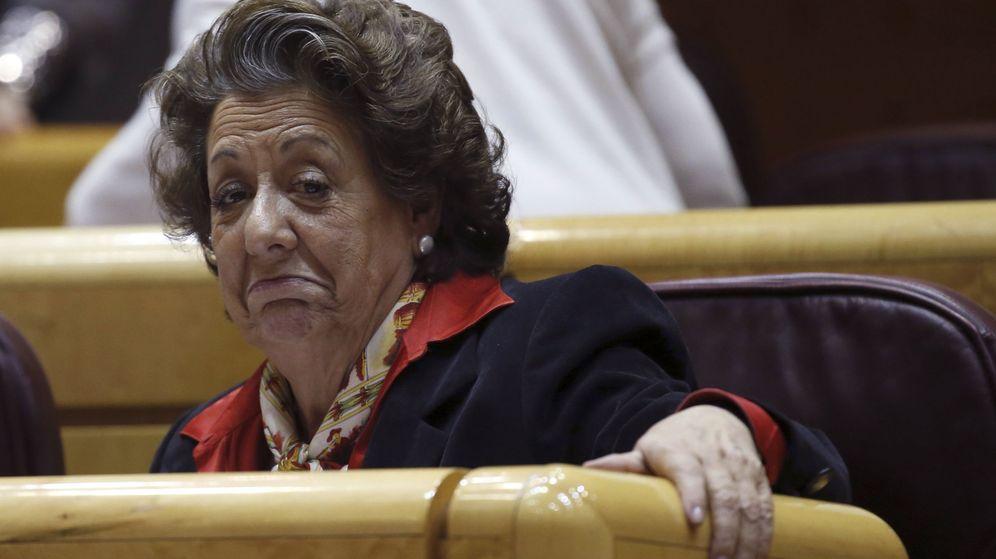 Foto: La exalcaldesa de Valencia y ahora senadora, Rita Barberá, en una imagen de archivo. (EFE)