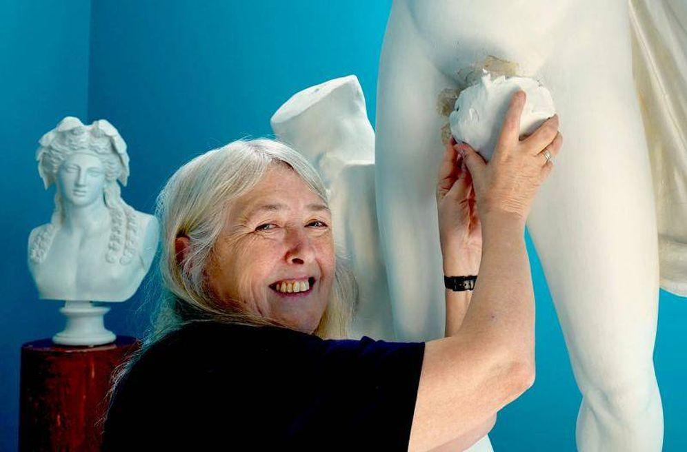 Foto: Mary Beard y su nuevo documental sobre los desnudos en el mundo clásico.