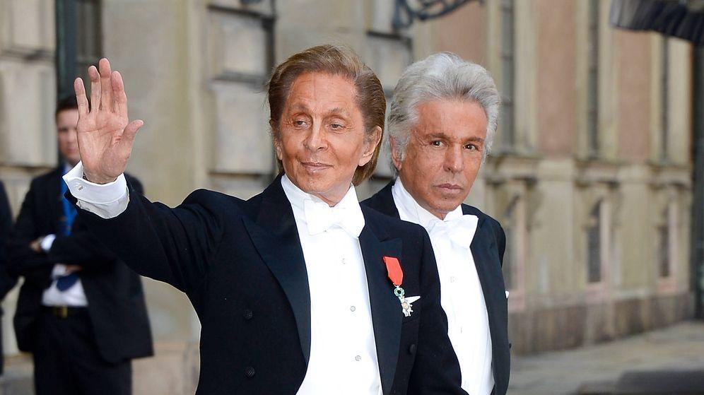 Foto: Valentino Garavani y Giancarlo Giammetti. (Getty)