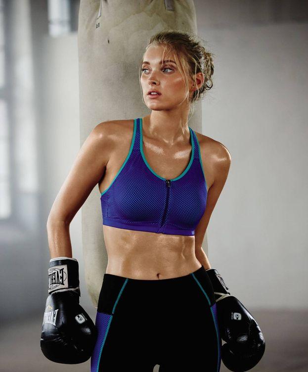 Foto: La modelo Elsa Hosk en una imagen de campaña de la firma Victoria's Secret