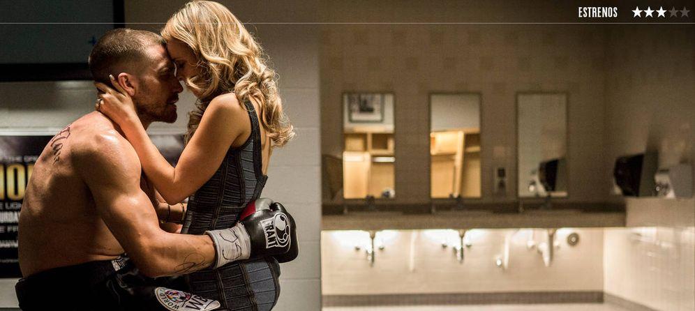Foto: Jake Gyllenhaal y Rachel McAdams, en 'Redención'.