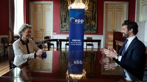 Casado avisa en Bruselas: El secesionismo en España es también un problema para la UE
