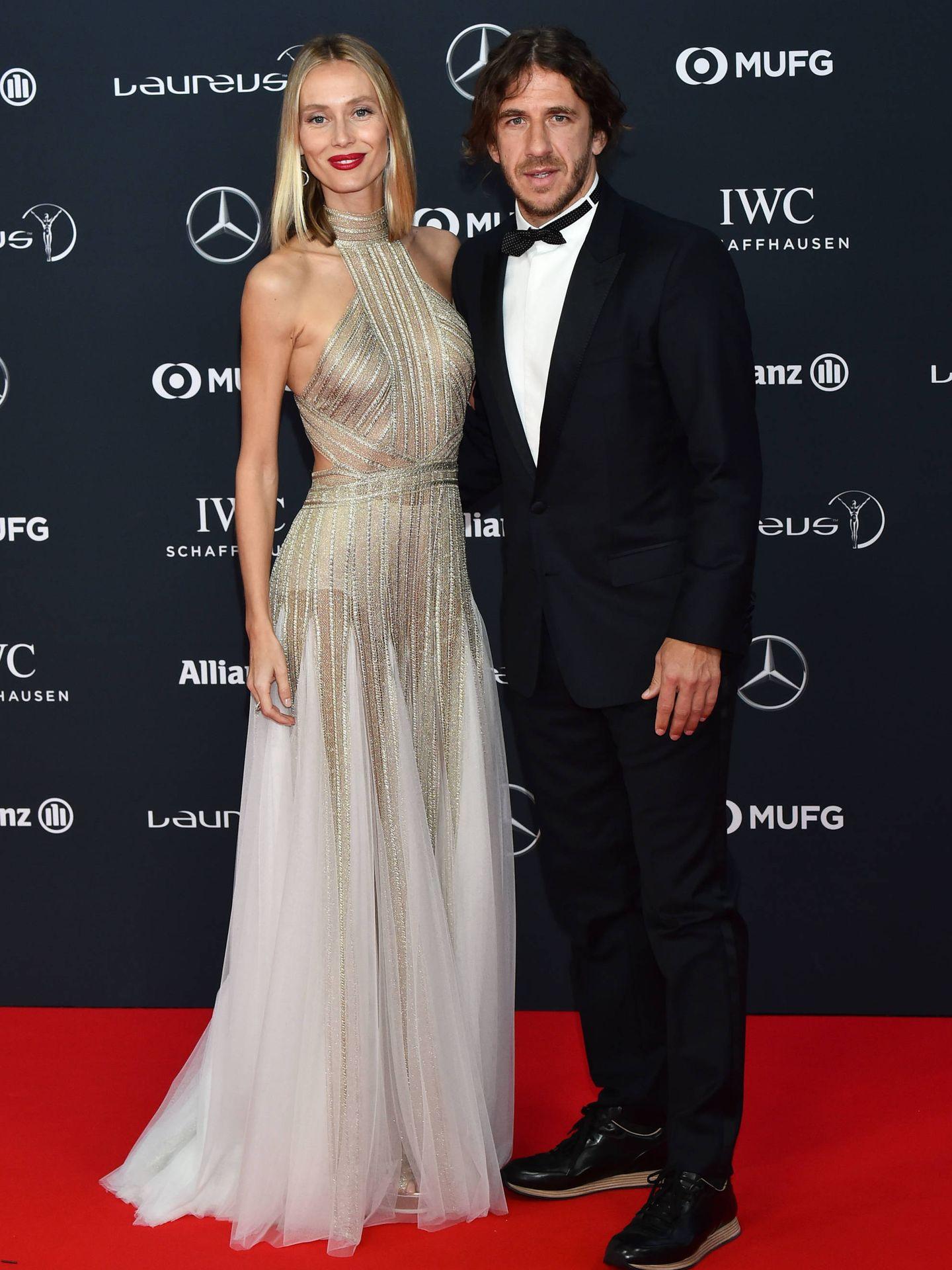 Vanessa Lorenzo y Carles Puyol. (Gtres)