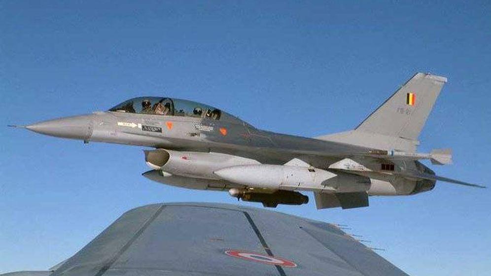 Foto: El avión que se ha estrellado en Francia. (Fuerza Aérea Belga)