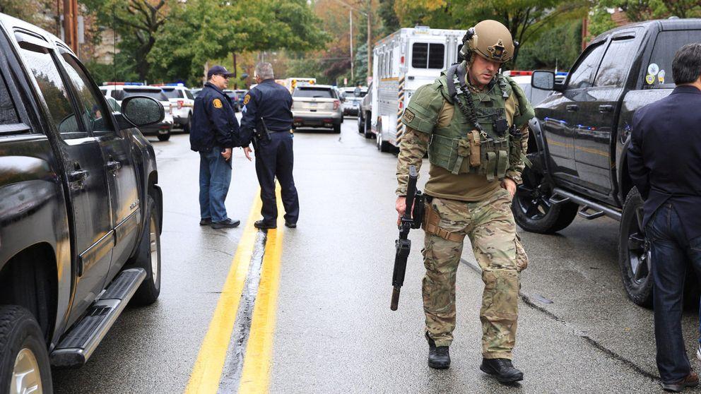 Once muertos y 6 heridos en un tiroteo en una sinagoga de Pittsburgh