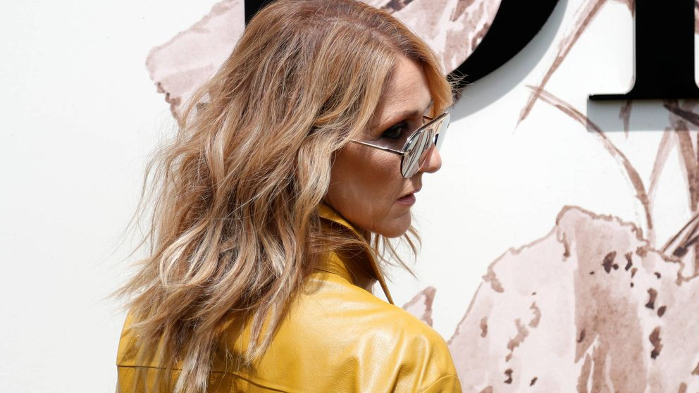 Céline Dion enfrenta a sus fans con un 'look' indescriptible
