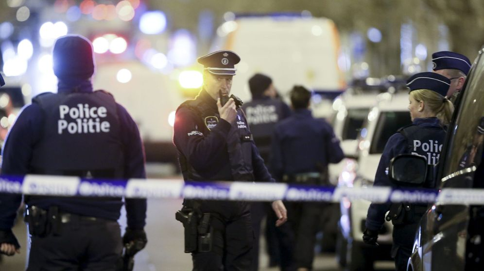 Foto: Imagen de archivo de una operación de la policía belga. (EFE)