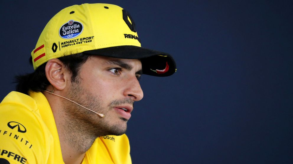A Sainz ya le preguntan cómo sería tener a Alonso como compañero en McLaren