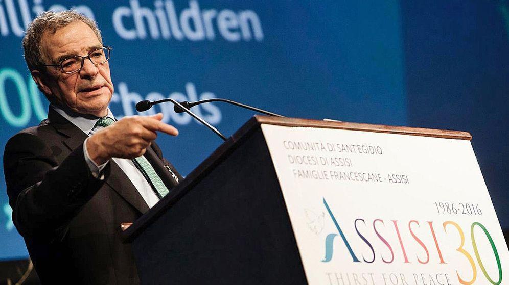 Foto: Fotografía de archivo del expresidente de Telefónica César Alierta. (EFE)
