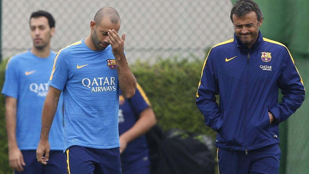 Foto: Javier Mascherano, imputado por un fraude fiscla de 1,5 millones (Efe).
