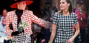 Post de La reina Letizia, muy cerca de Lady Di con su último look