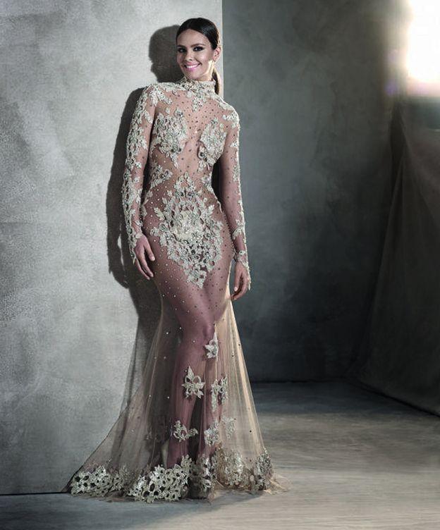 Foto: Cristina Pedroche con su vestido de Nochevieja 2015 (Pronovias)