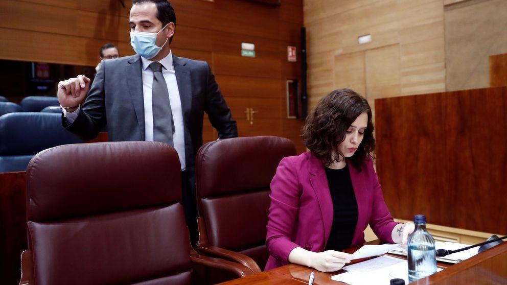 Aguado cierra el 'caso Room Mate' y el PP le desmiente: Ayuso sigue investigando