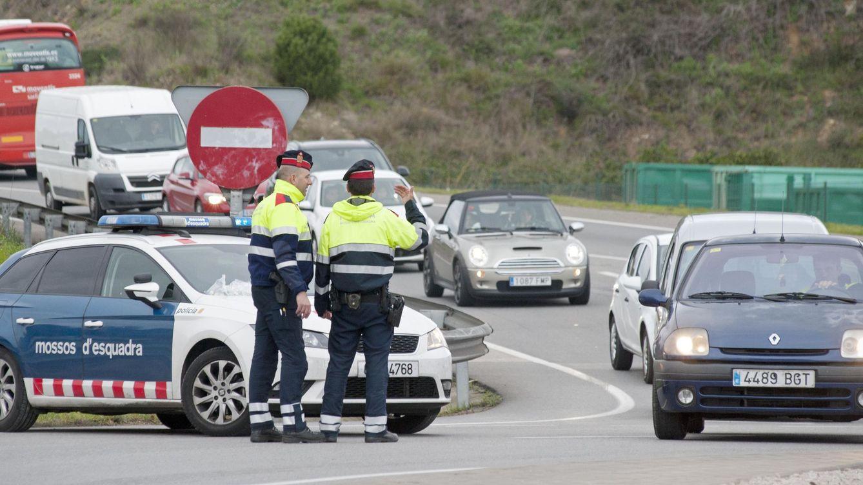 Detenido un camionero que quintuplicaba la tasa de alcohol y hacía eses en la autopista