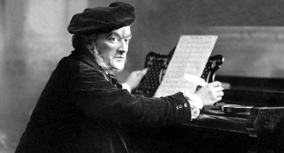 Foto: Richard Wagner, fotografiado en 1875