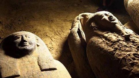 Hallan en Egipto 13 sarcófagos sellados en perfecto estado de conservación
