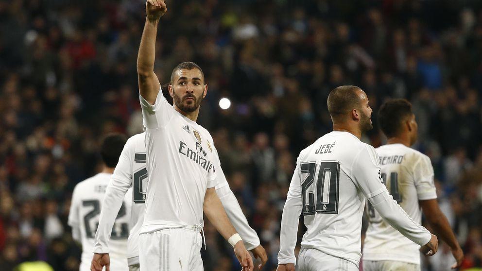 Benzema recibe el cariño de todo el Madrid: El presidente es importante