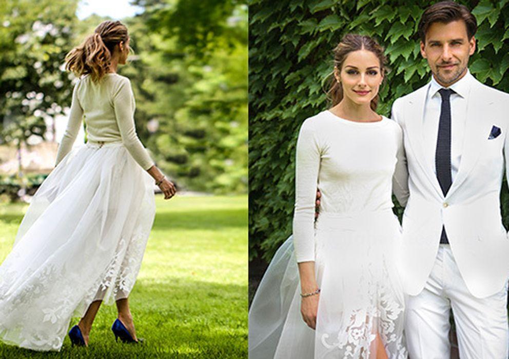 olivia palermo se casa y reinventa el vestido de novia
