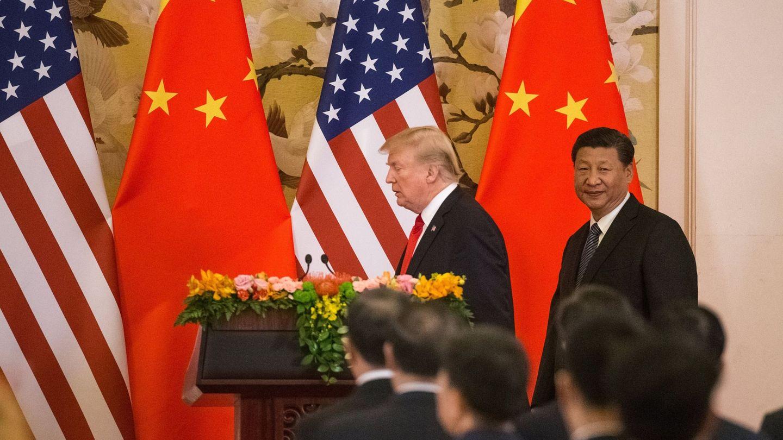 Visita de Trump a China. (EFE)