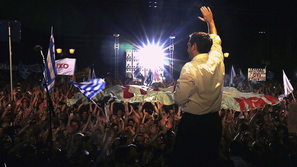 Tsipras se afianza en las Termópilas