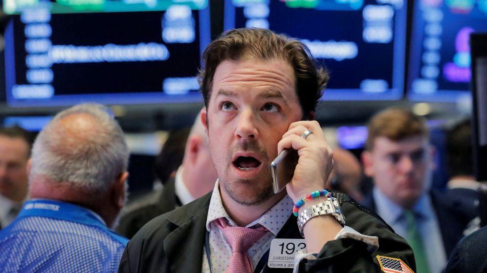 Foto: Un operador de bolsa en Nueva York. (Reuters)