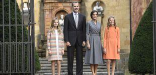 Post de Letizia, más madre que Reina en Oviedo: su estudiado look con mensaje