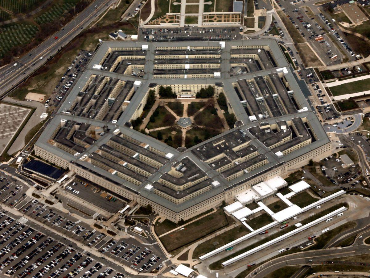 Foto: El Pentágono visto desde el aire.