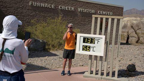 El termómetro del Valle de la Muerte marca los 54,2 grados