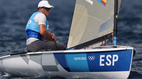 Joan Cardona logra la medalla de bronce en la clase Finn de vela