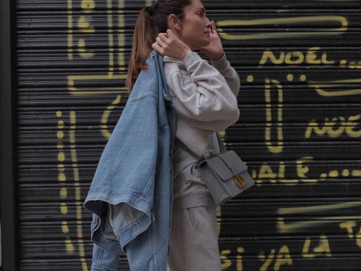Foto: Eugenia Silva y su look con chándal. (Instagram @eusilva)