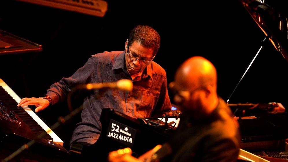 Foto: El pianista de jazz Herbie Hancock, que abrirá JazzMadrid 2019, en una imagen de archivo. (Reuters)