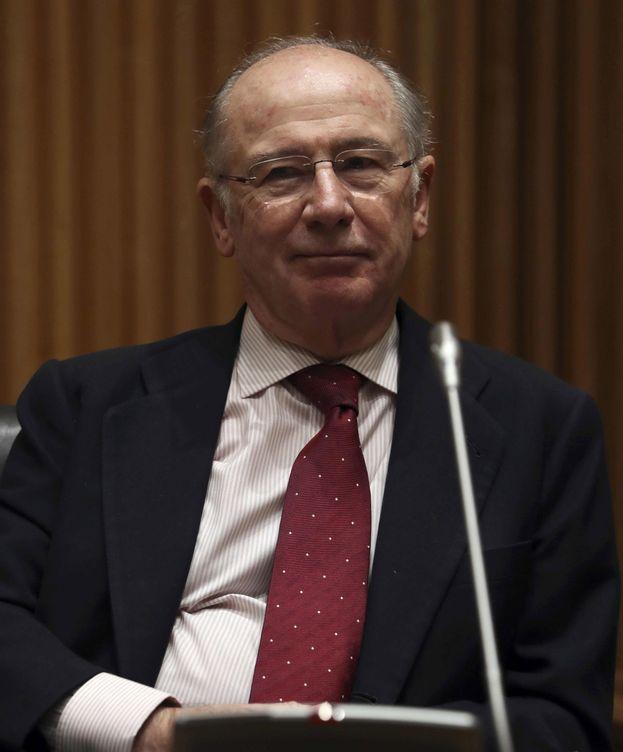 Foto: Rodrigo Rato, en la comisión de investigación de la crisis financiera. (EFE)