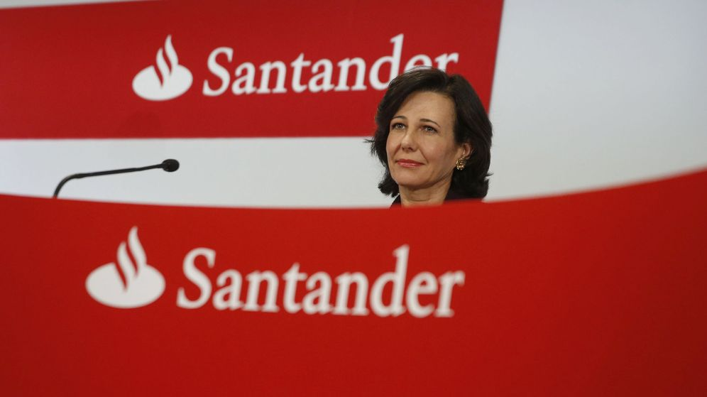 Foto: La presidenta de Banco Santander, Ana Botín. (EFE)