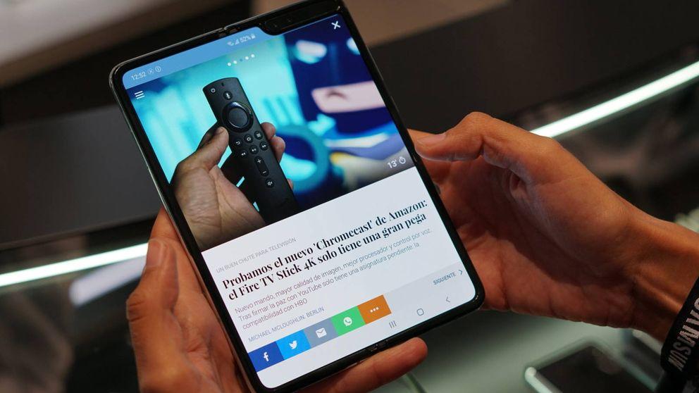 Así funciona el Galaxy Fold, el móvil por el que Samsung quiere que te dejes 2.000€