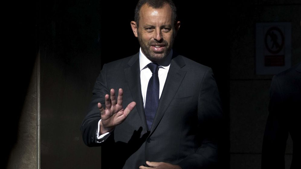 Foto: El expresidente del Barcelona, Sandro Rosell. (EFE)