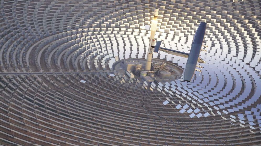 Foto: Foto de archivo de una instalación termosolar. (EFE)