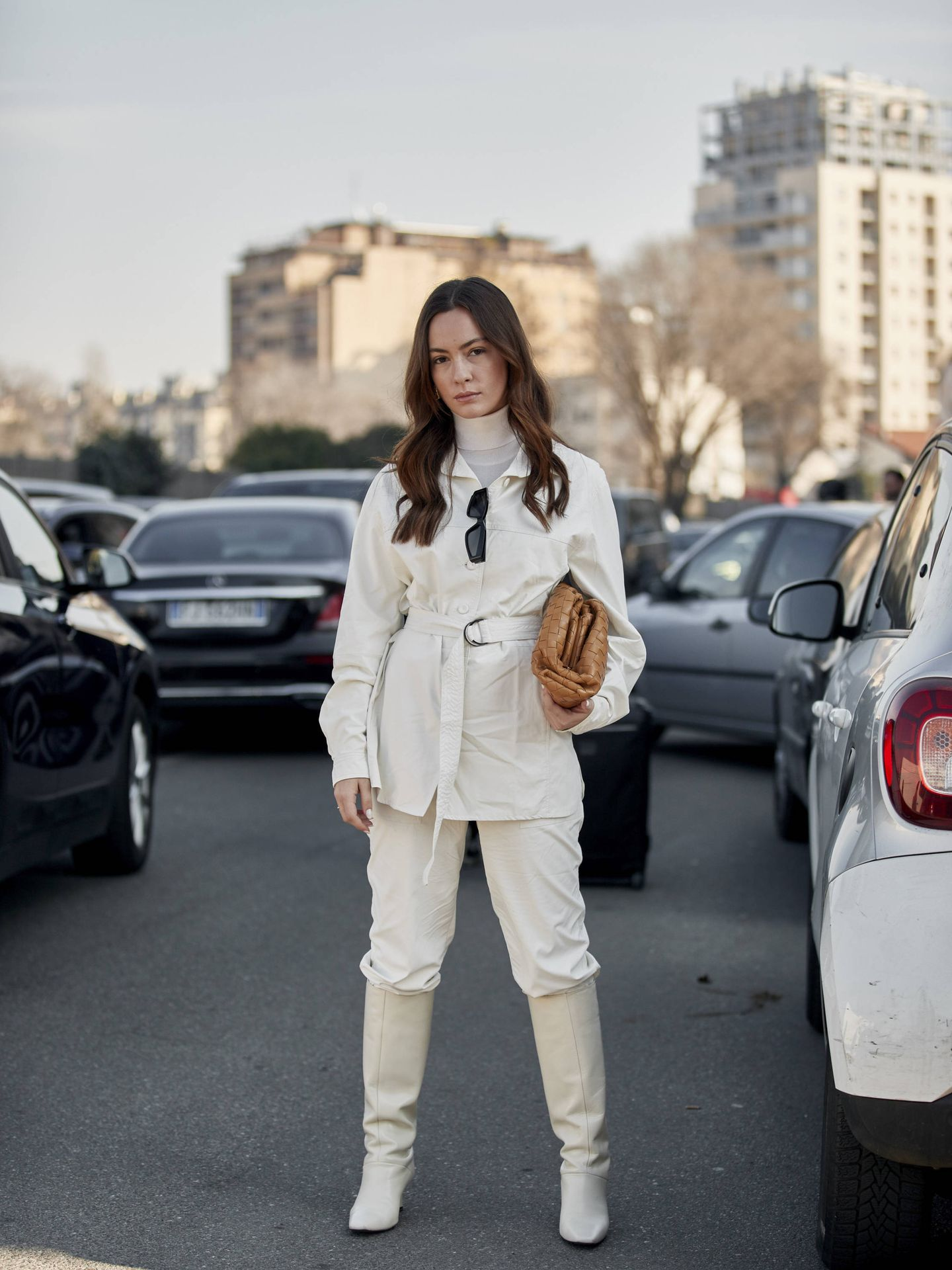 El blanco resplandece en las calles. (Imaxtree)