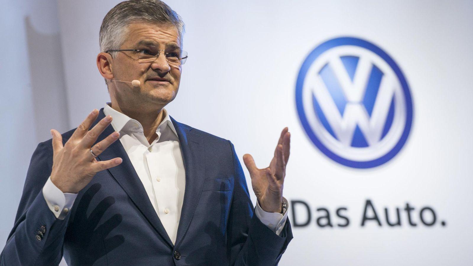Foto: Michael Horn, presidente y CEO de Volkswagen Group (Reuters)
