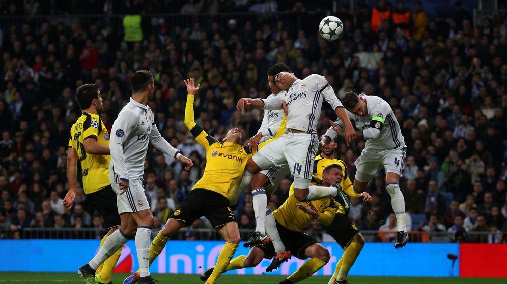 Foto: El Real Madrid-Borussia Dortmund del pasado año. (Reuters)