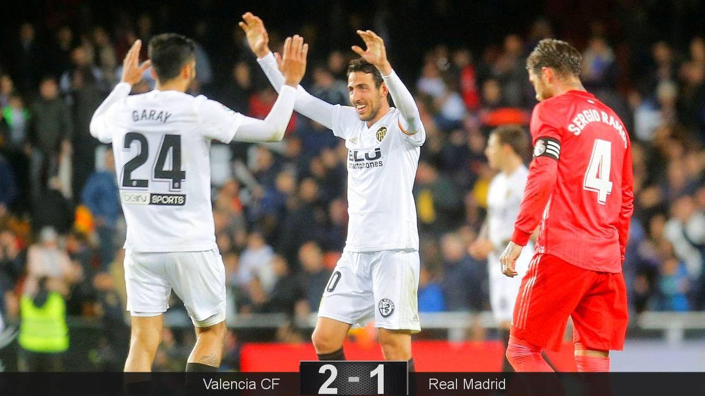 Foto: El Real Madrid cayó derrotado ante el Valencia, que persigue los puestos de Champions. (Reuters)