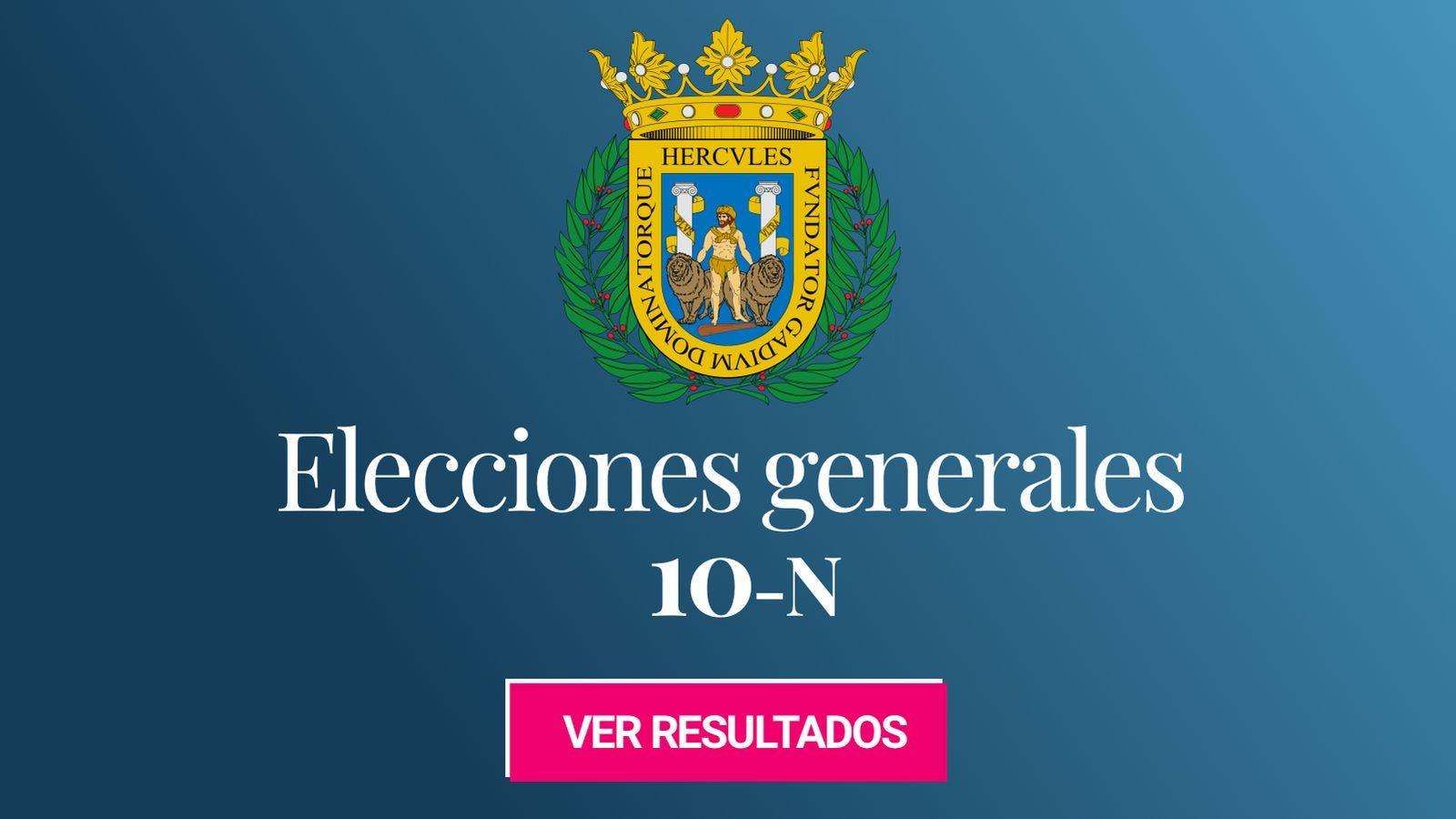 Foto: Elecciones generales 2019 en Cádiz. (C.C./EC)