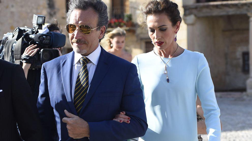 Nieves Álvarez y Marco Severini acuden juntos a la boda de la hija del diseñador Roberto Torretta