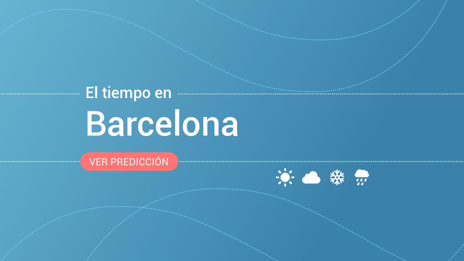 Foto: El tiempo en Barcelona. (EC)