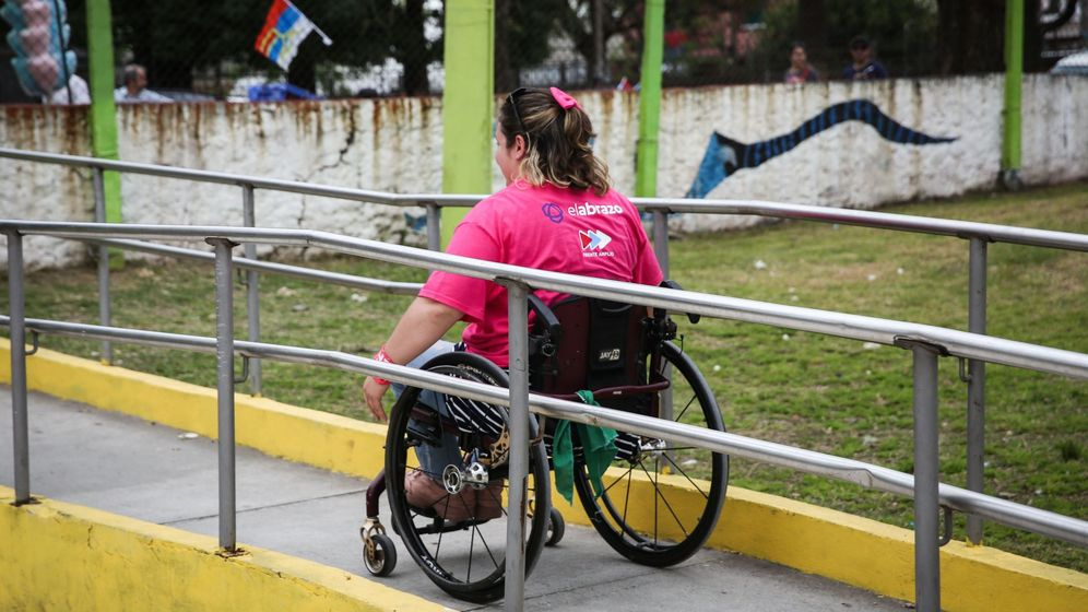 Foto: Una persona con esclerosis múltiple. Foto: EFE Raúl Martínez