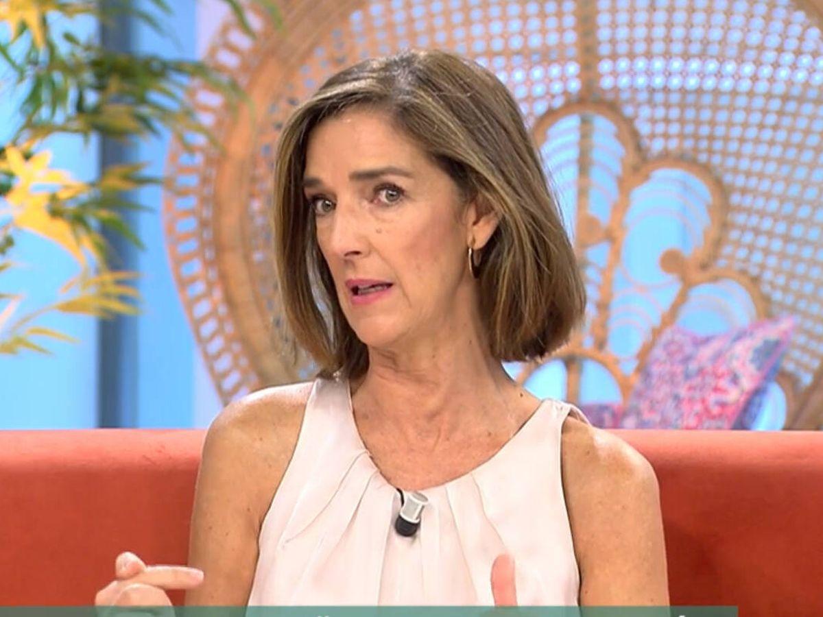 Foto: Paloma García-Pelayo, en 'El programa del verano'. (Telecinco)