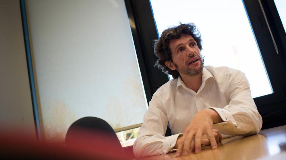 Foto: El exdirector general de Globalia Pedro Serrahima. (Pablo López)